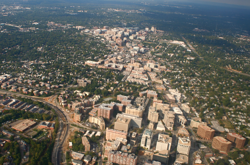 """Rosslyn-Ballston Corridor, Arlington, VA"" by John von Kerczek on Flickr."