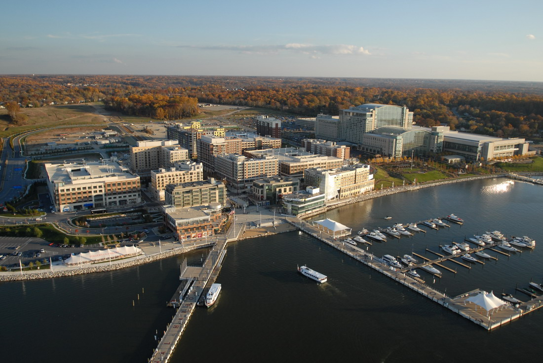 National Harbor in Prince George's County